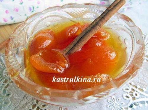 Классическое абрикосовое варенье