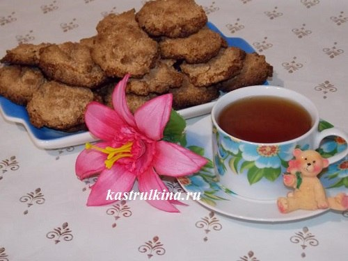 арахисовое печенье готово