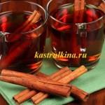 безалкогольный глинтвейн с яблочным и вишневым соком