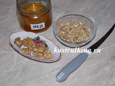 орехово-медовая начинка
