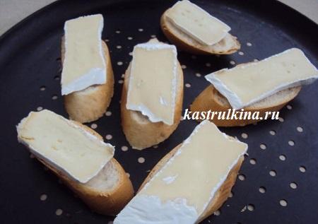 делаем сырные гренки