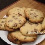 домашнее печенье с шоколадными кусочками