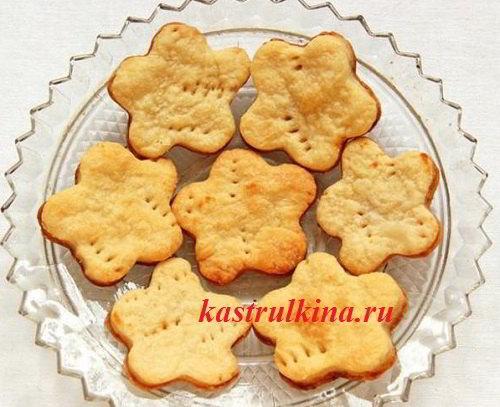 Домашнее печенье на маргарине без соды