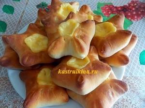 Рецепт домашних хачапури с сыром на дрожжах