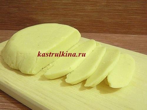 Твердый сыр как в магазине (рецепт с фото)