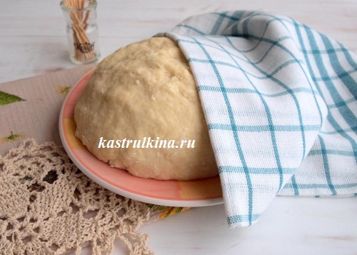 Дрожжевое тесто на манке