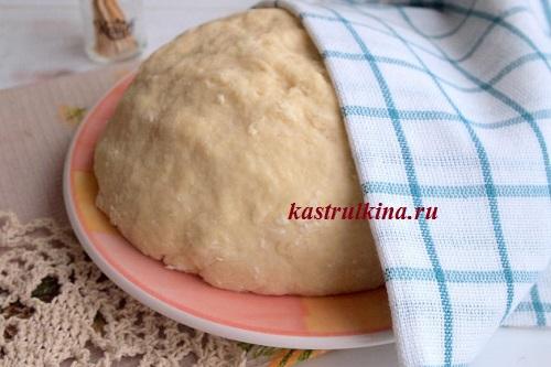 дрожжевое тесто с манной крупой