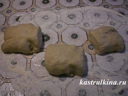 формируем булочки