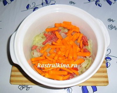 добавьте морковку