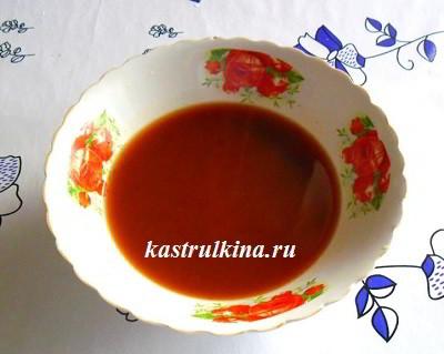 винный соус с кетчупом