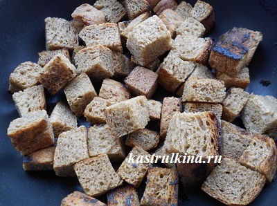 хлеб обжарить