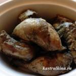 жареный цыпленок в виноградном соке