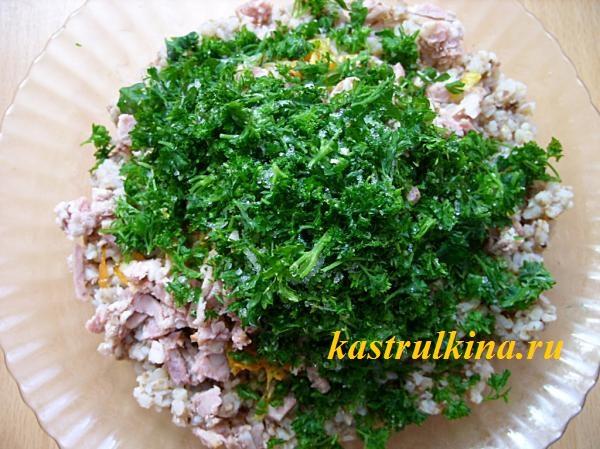 готовим начинку из гречневой каши фото 6
