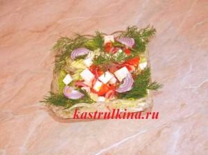 готовим салат греческий из брынзы и китайской капусты фото 9