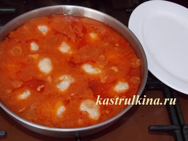 готовим тефтели из минтая в томатном соусе фото 10