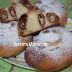 испанские булочки Ensaimadas с корицей