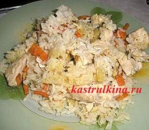 переваренный рис