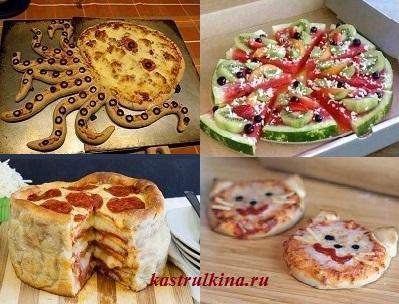 оригинальные и необычные пиццы