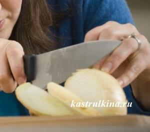 как порезать лук без слез