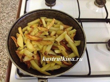 как пожарить картофель вкусно