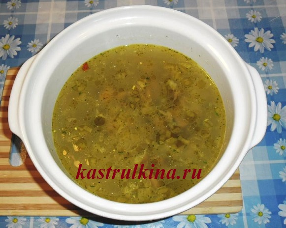 рецепт сырно грибного супа из шампиньонов