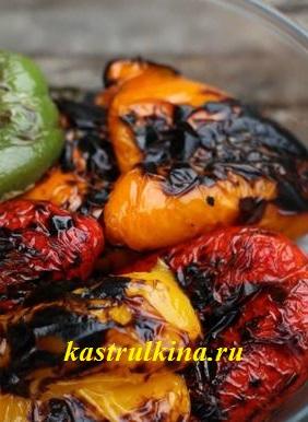 запеченный болгарский перец в духовке
