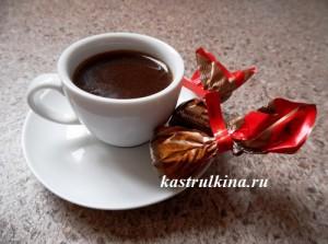 канадский согревающий напиток из кофе и шоколада