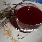 согревающий кисель от простуды из замороженных ягод с травами и пряностями