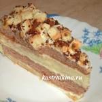 кофейный торт сметанник с ликером
