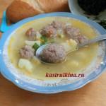 суп кулеш с пшеном и мясом