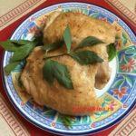 курица, запеченная в духовке с ревенем, горчицей и имбирем