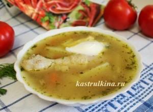 чорбе - куриный молдавский суп