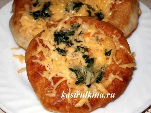 Булка с сыром и чесноком в духовке рецепт