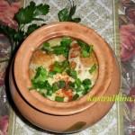 луковый суп с сыром в микроволновке