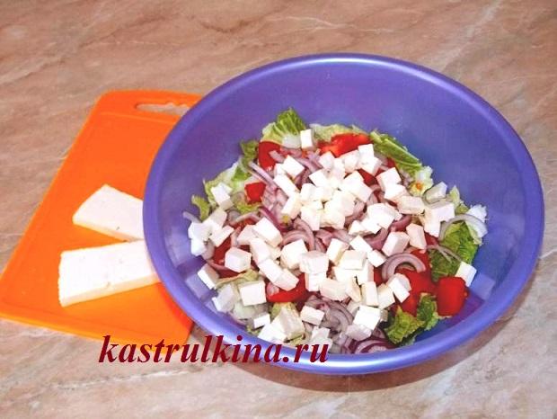 Мастер класс приготовления салата