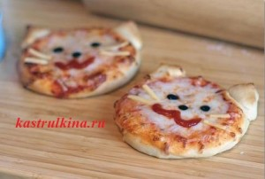 мини пиццы hello kitty