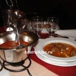 мясной суп-гуляш по-венгерски