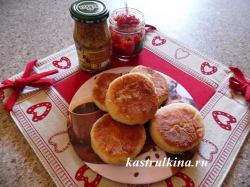 Несладкие сырники с грибами (маслятами)