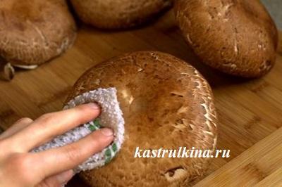 обработка грибов перед сушкой