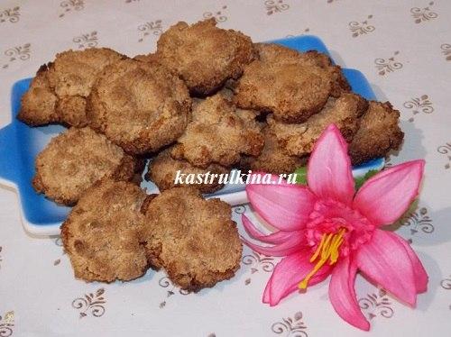 Арахисовое печенье из белков