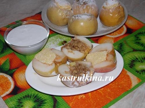 печеные яблоки готовы