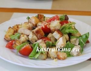 пересоленный салат