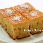 пирог ревани - турецкий манник