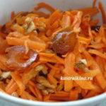 полезные салаты из сырой морковки