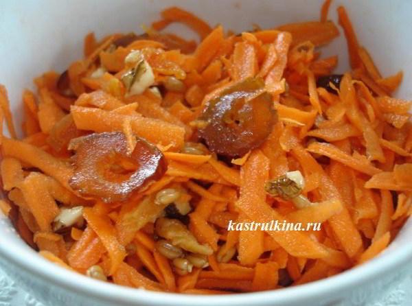 Полезные и вкусные салаты из свежей морковки