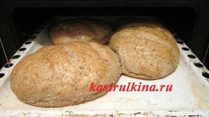 смазать хлеб растительным маслом для корочки