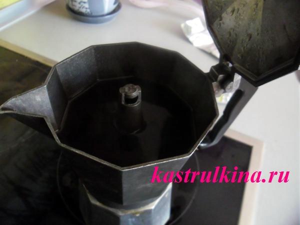 приготовление кофе в гейзерной кофеварке фото 6
