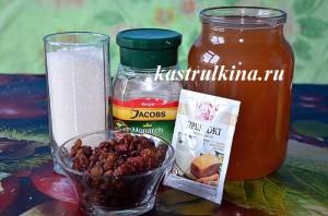 продукты для приготовления домашнего кваса