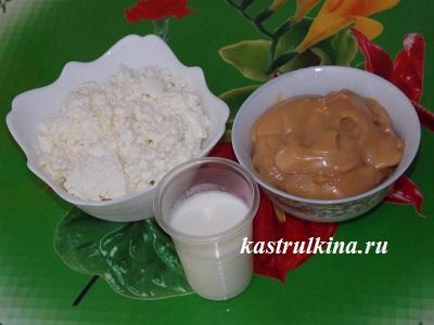 продукты для приготовления мороженого
