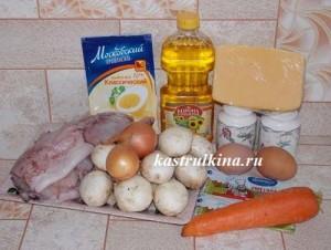продукты для запекания кальмаров